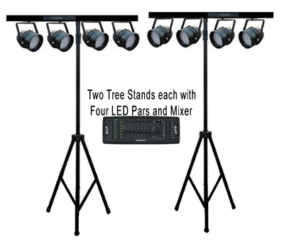 led-pars-with-stand
